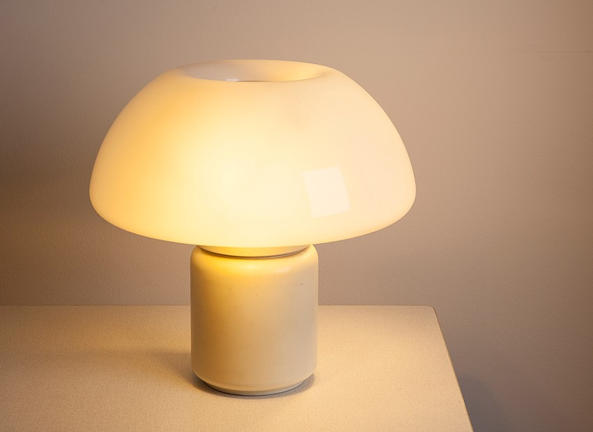 SOLD Elio Martinelli Table Lamp Martinelli Luce Italy 70s
