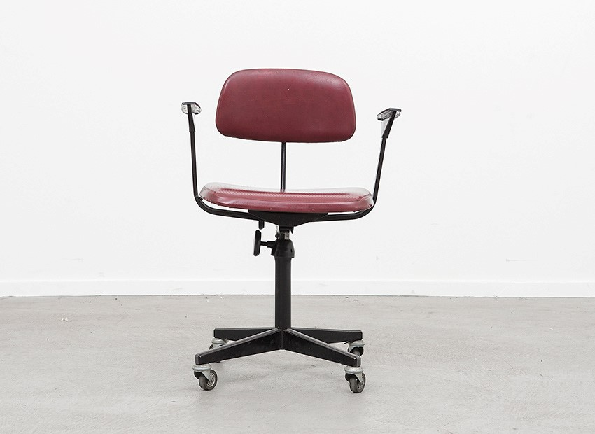 SOLD Friso Kramer Desk Chair De Cirkel 60s