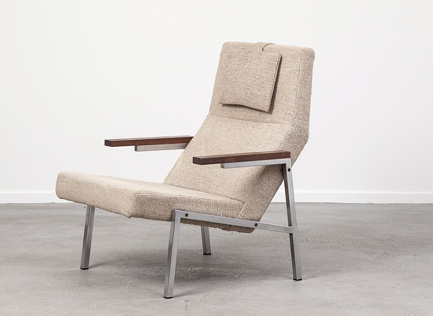 SOLD Martin Visser Easy Chair SZ67 'T Spectrum 1964