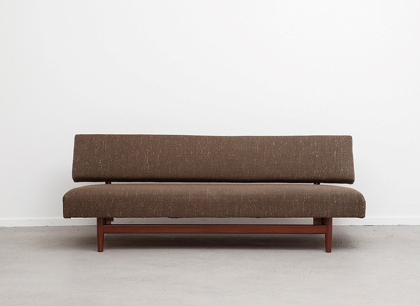 SOLD Rob Parry Doublet Teak Sleeping Sofa Gelderland 1958