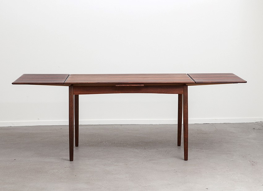 SOLD Rosewood Extendable Dining Table Denmark 60s