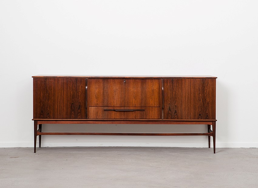 SOLD Rosewood Sideboard Denmark 60s