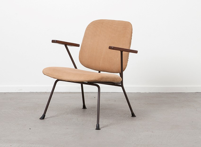 SOLD W.H. Gispen Easy Chair Kembo 50s