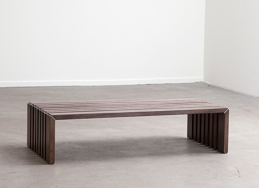 SOLD Walter Antonis Slat Bench 'T Spectrum 1969