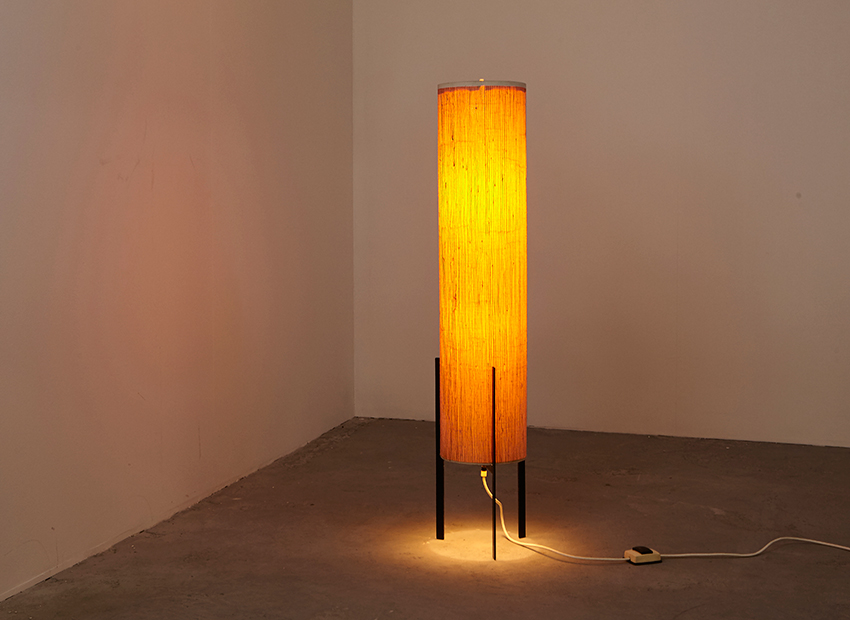 SOLD Rocket Tripod Floor Lamp 1960s