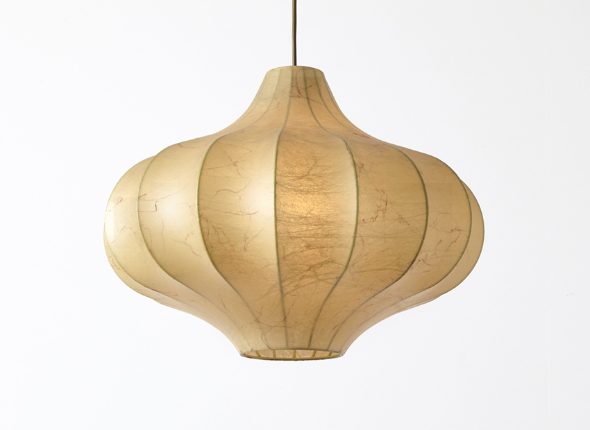 SOLD Cacoon Pendant in the style of Castiglioni 1960s