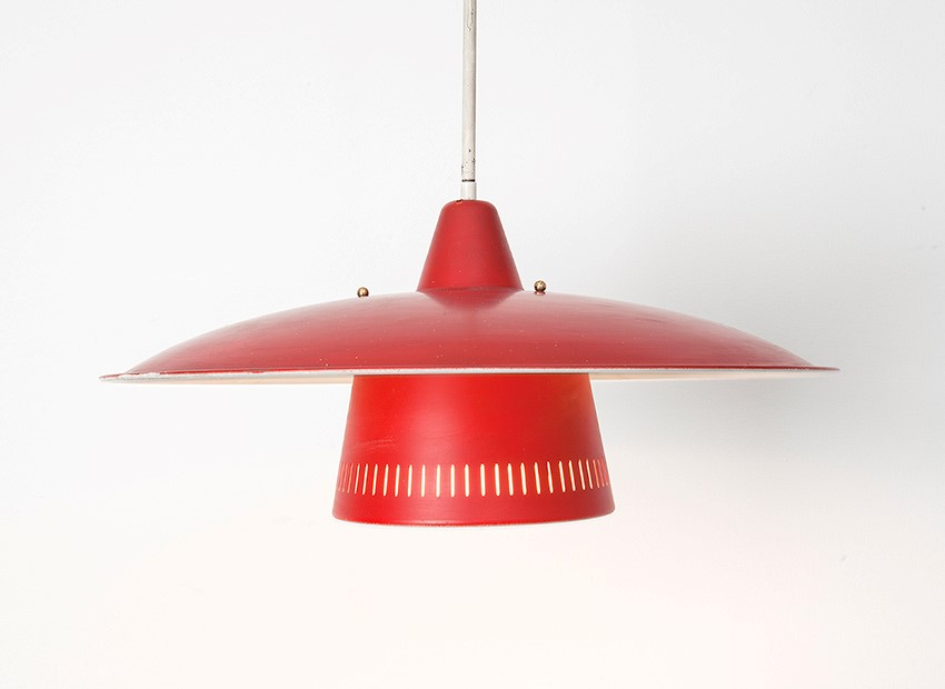 Dutch 50s Hanging Lamp 1