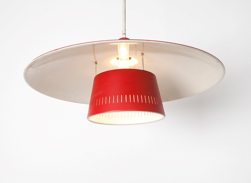 Dutch 50s Hanging Lamp 2