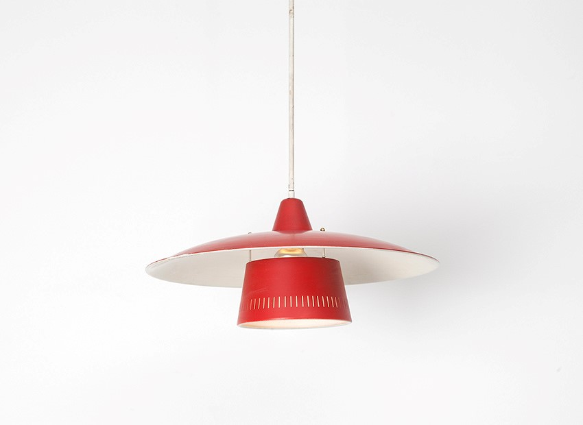 Dutch 50s Hanging Lamp 3