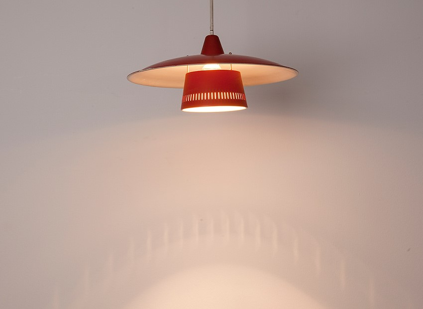 Dutch 50s Hanging Lamp 4