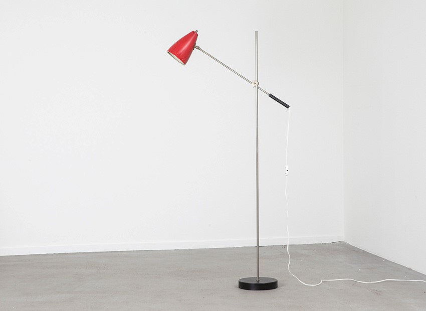 SOLD Dutch Floor Lamp 1950s