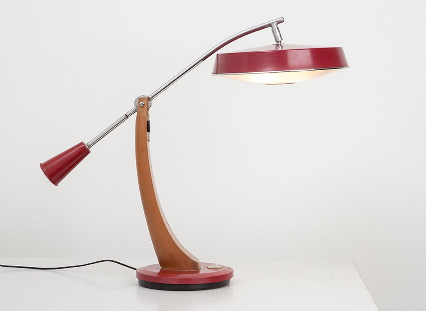 Fase President Table Lamp Madrid Spain 60s 3