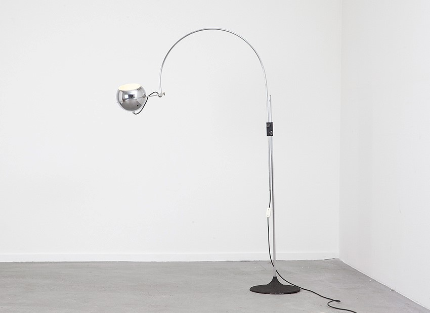 Gepo Arc Floor Lamp Dutch 60s 1