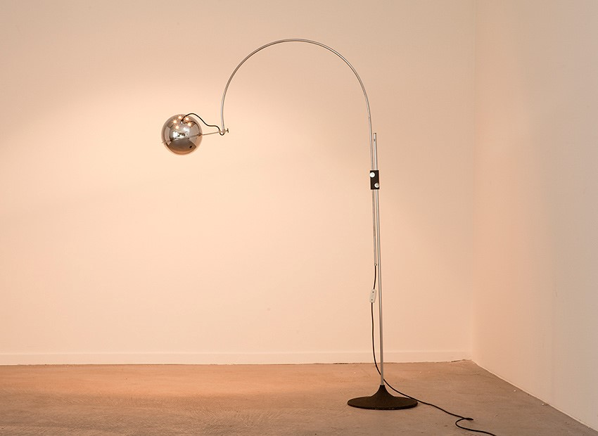Gepo Arc Floor Lamp Dutch 60s 3