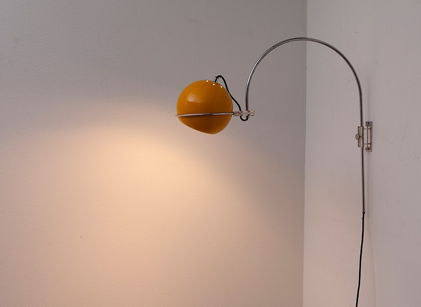 Gepo Arc Wall Lamp Dutch 60s 1