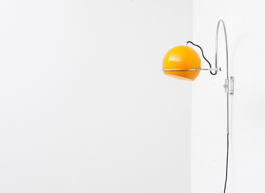 Gepo Arc Wall Lamp Dutch 60s 4