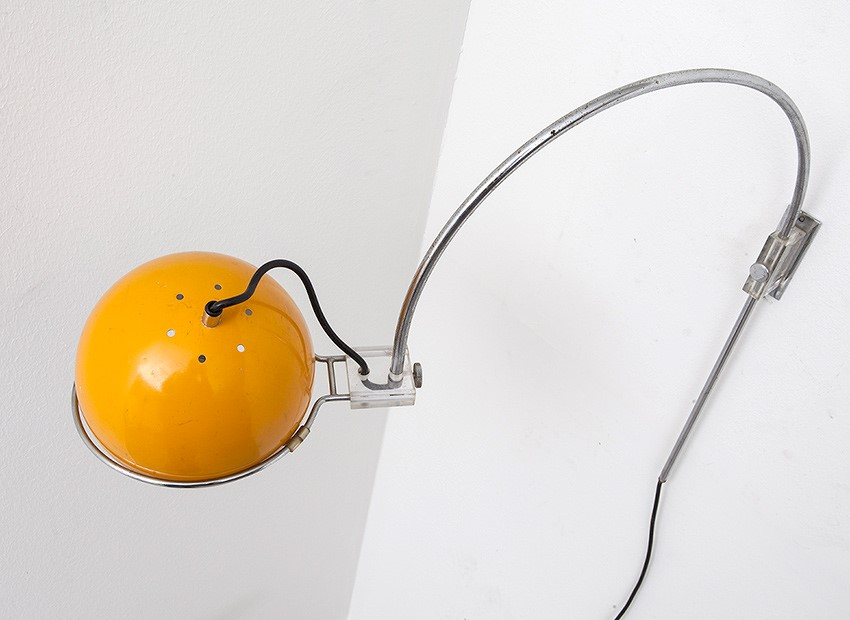 Gepo Arc Wall Lamp Dutch 60s