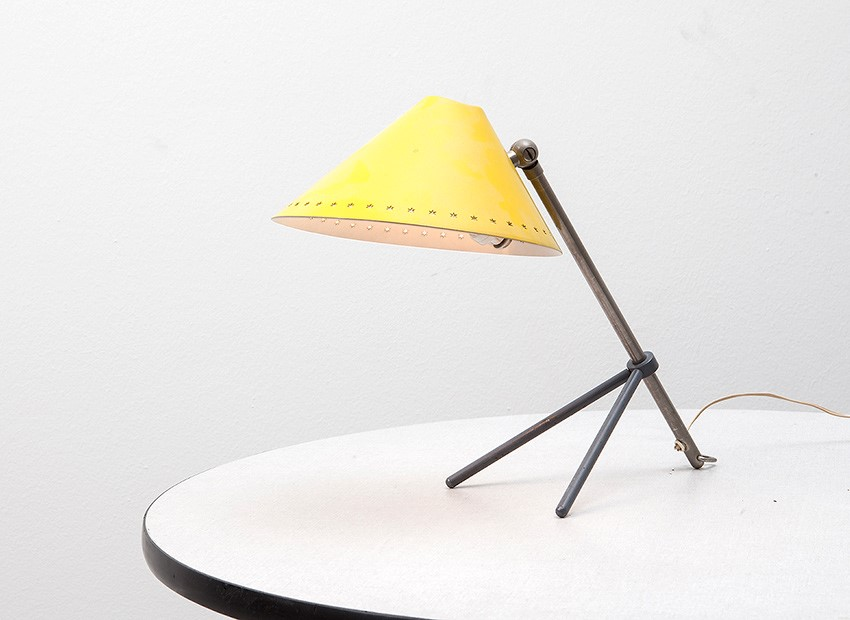 SOLD H.TH.J.A. Busquet Pinokkio Table Lamp Hala 50s