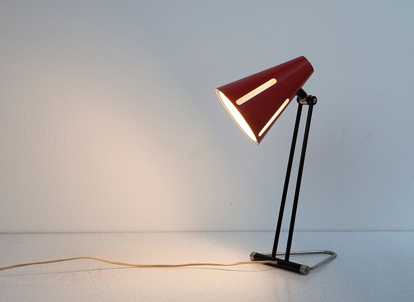 H.Th.J.A. Busquet Table Lamp Sun Series Hala 50s 1