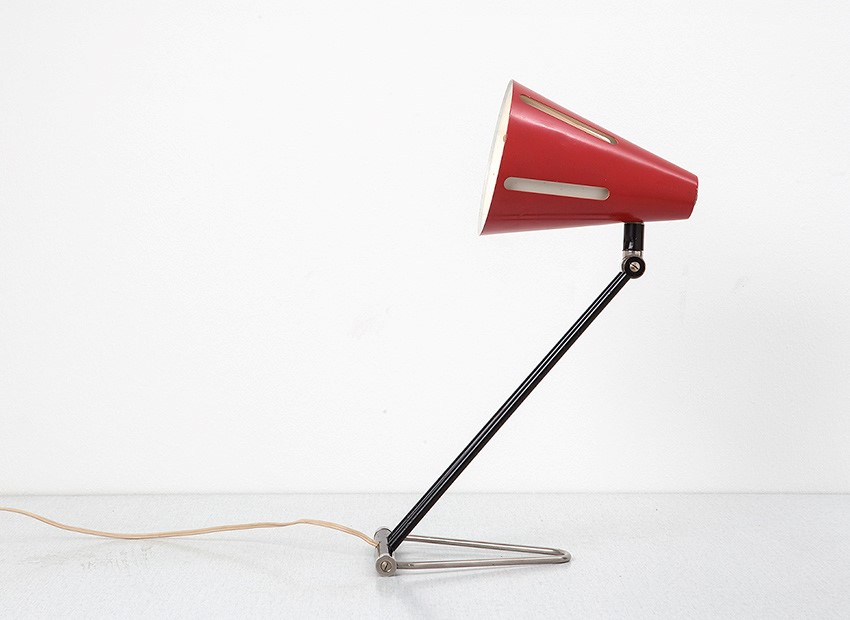 H.Th.J.A. Busquet Table Lamp Sun Series Hala 50s 3