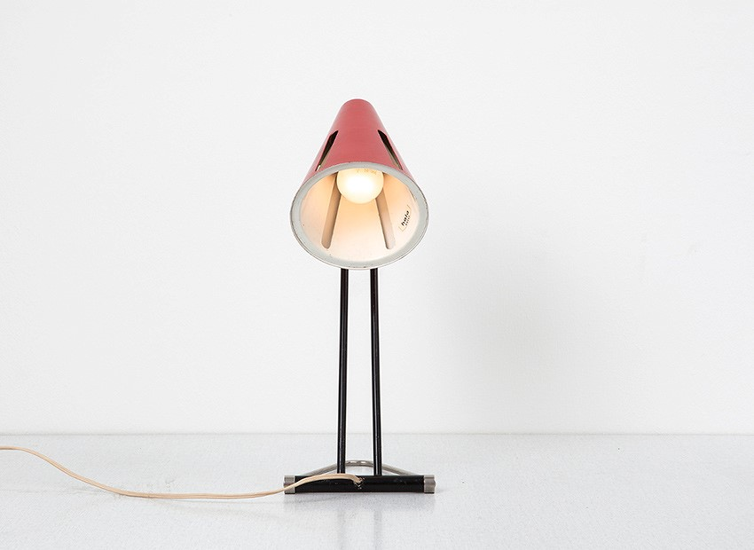 H.Th.J.A. Busquet Table Lamp Sun Series Hala 50s 8
