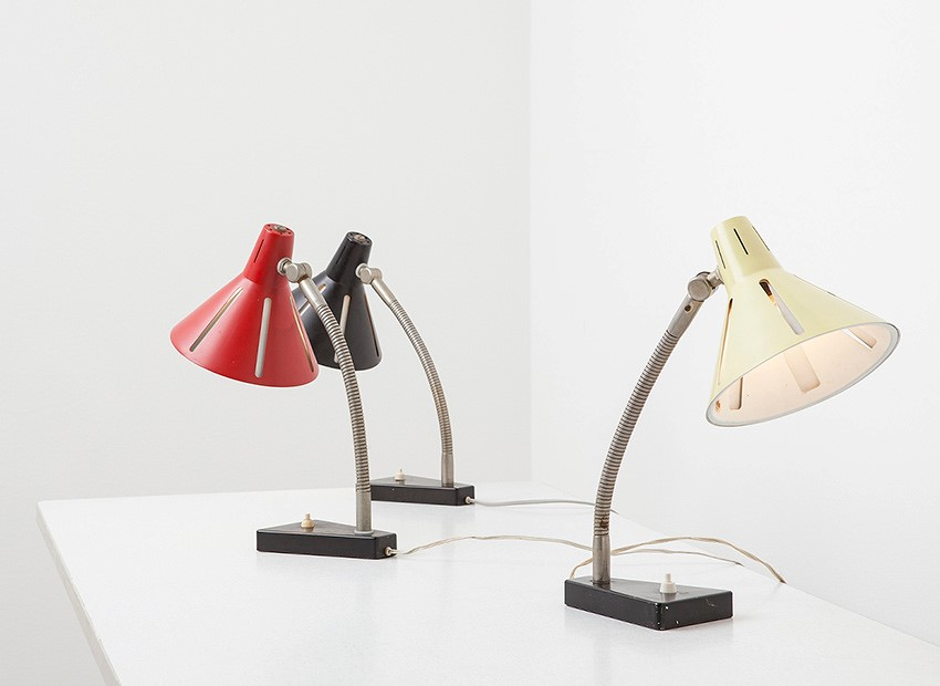 H.Th.J.A. Busquet Table Lamps Sun Series Hala 50s 2