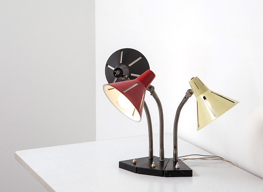 H.Th.J.A. Busquet Table Lamps Sun Series Hala 50s 6