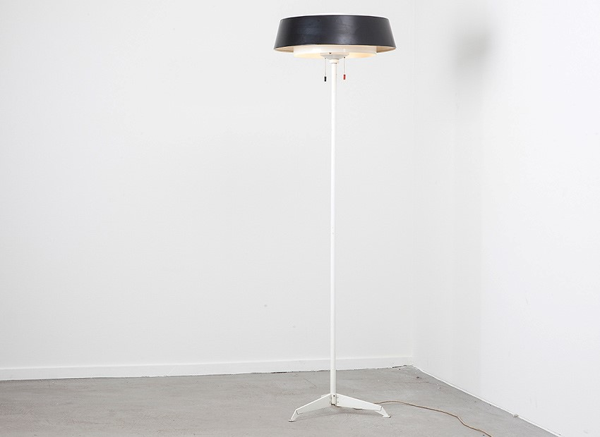 SOLD Hiemstra Floor Lamp Dutch 60s
