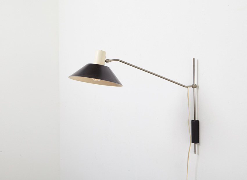 J. Hoogervorst Wall Lamp 7078 Anvia 1958