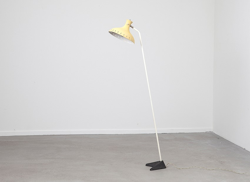 J.J.M. Hoogervorst Floor Lamp Anvia Dutch 50s