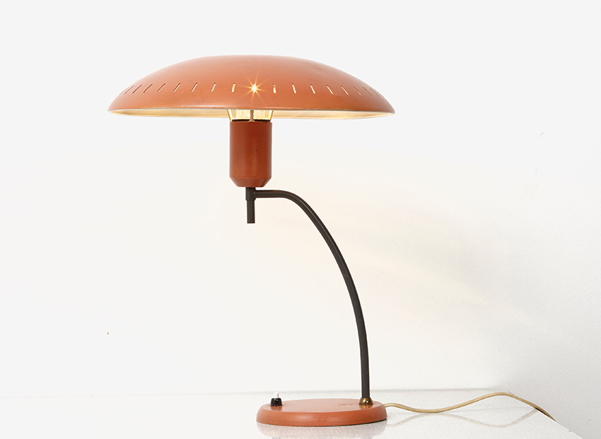 Louis Kalff Junior Table Lamp Philips 1950s