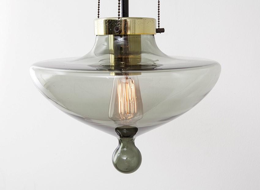 SOLD Raak Drop Ceiling Lamp Dutch 60s