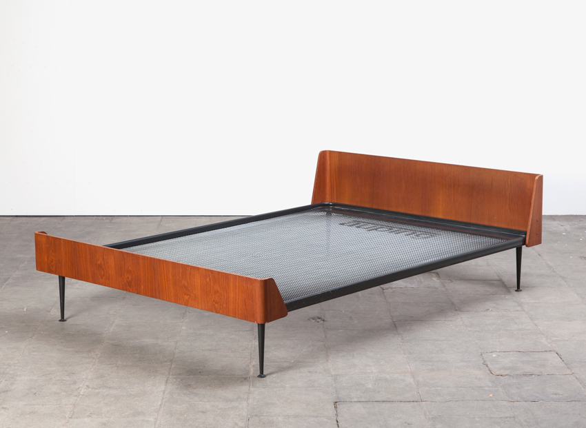 SOLD Friso Kramer Euroika Bed Auping 1963