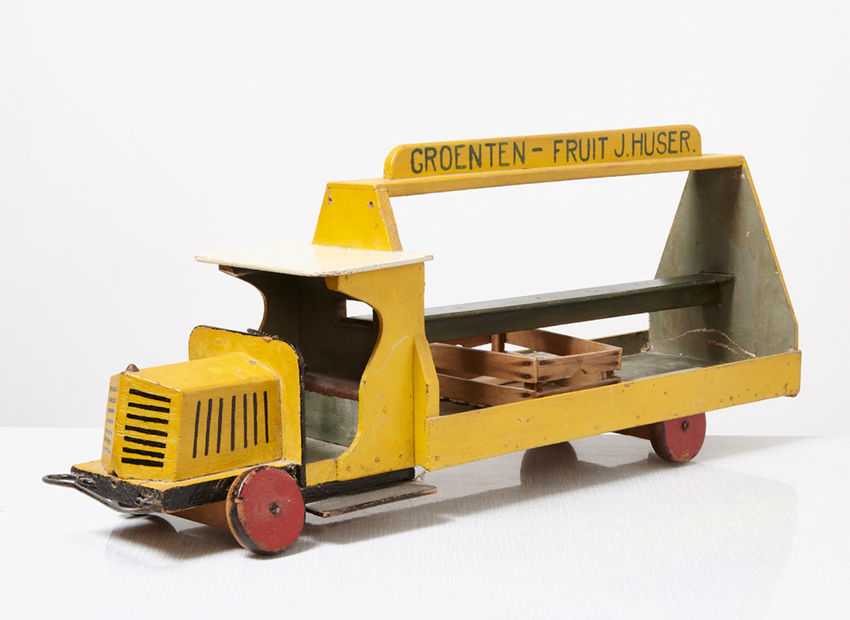 SOLD Wooden Toy Truck In the Style of ADO 1930s