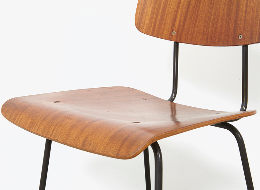 A.R.Cordemeyer 10x PlywoodChairs Gispen 12