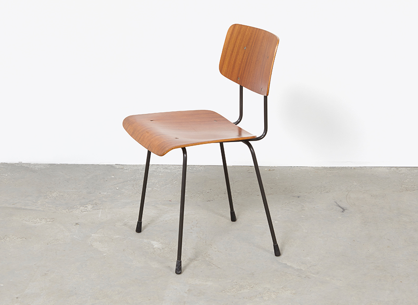 A.R.Cordemeyer 10x PlywoodChairs Gispen 14