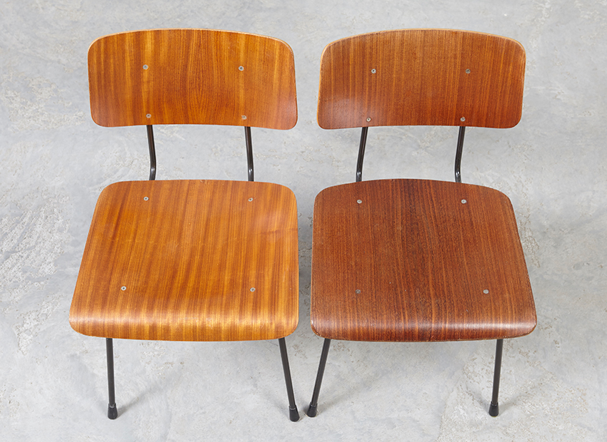 A.R.Cordemeyer 10x PlywoodChairs Gispen 17