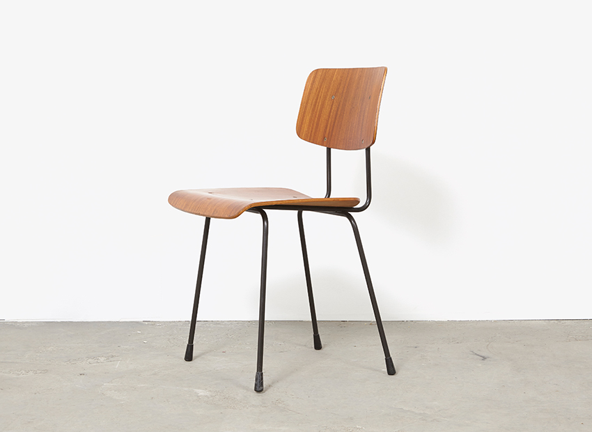 A.R.Cordemeyer 10x PlywoodChairs Gispen 9