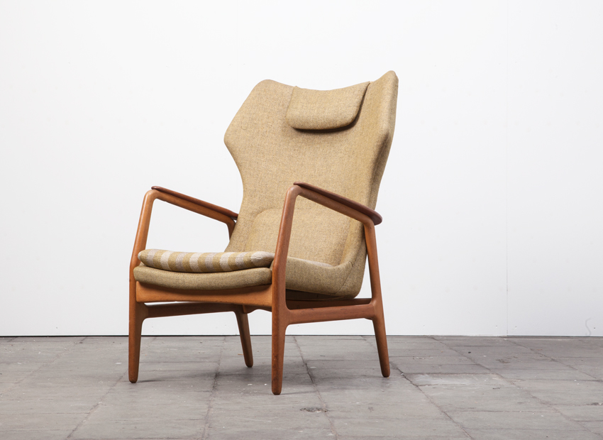 SOLD Bovenkamp Teak EasyChair BenderMadson 50s