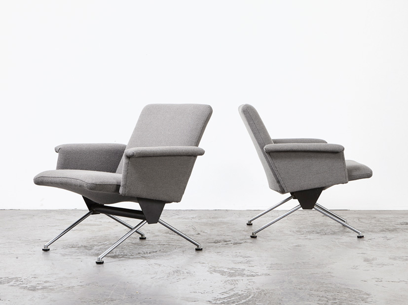 Andre Cordemeijer Pair of Lounge Chairs 1432 Gispen 1961