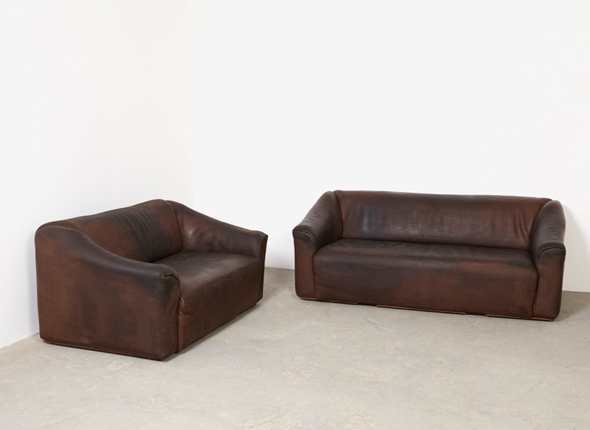 SOLD De Sede DS-47 3- + 2-Seat Sofa 1970