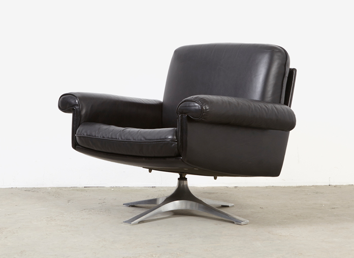 De Sede DS-31 Leather Lounge Chair 70s