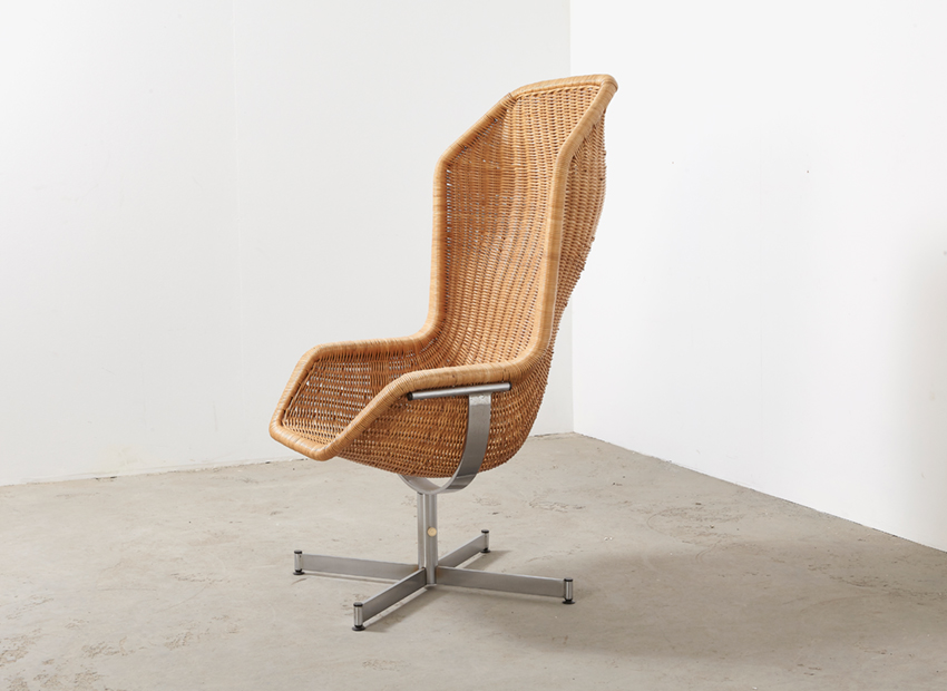 SOLD Dirk van Sliedrecht Lounge Chair 736 Gebr.Jonkers 1960