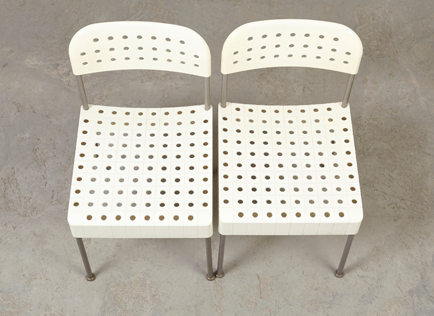 EnzoMaria SetOf2BoxChairs Casetlli Coloured 8