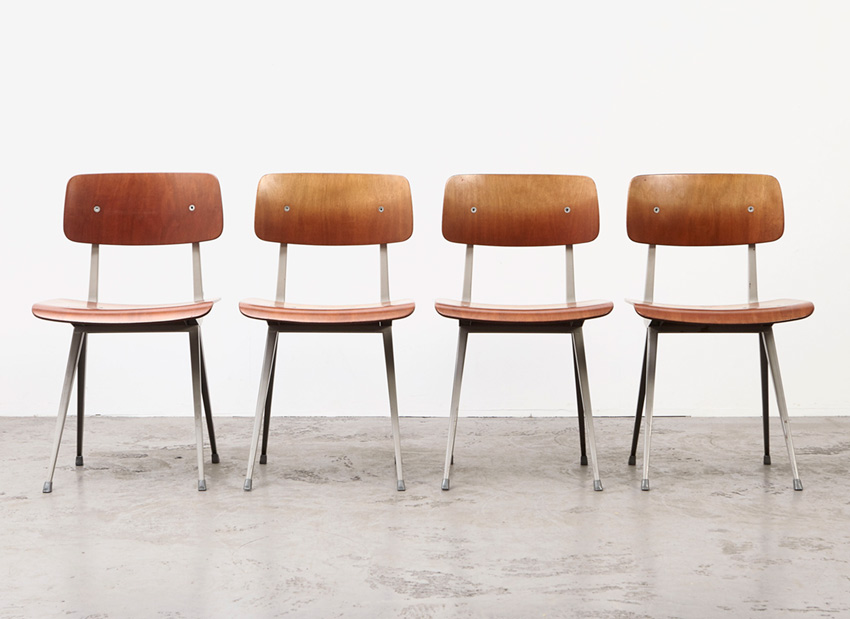 FrisoKramer SetOf4 Result Chairs 1