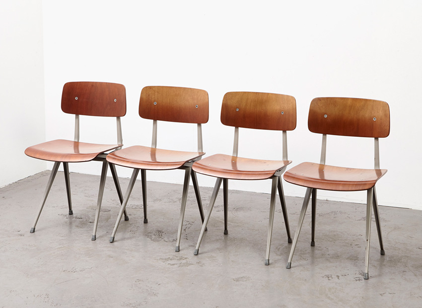 FrisoKramer SetOf4 Result Chairs 2
