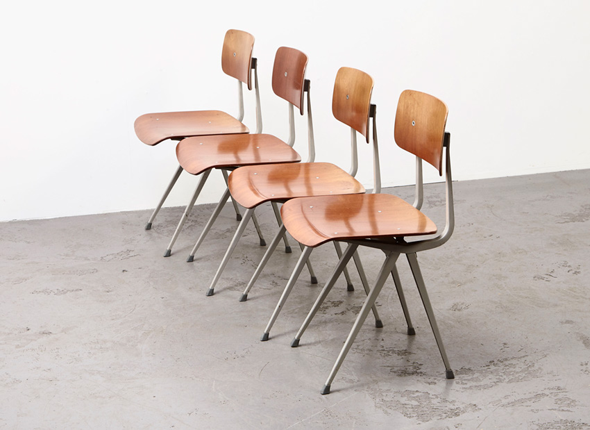 FrisoKramer SetOf4 Result Chairs 6