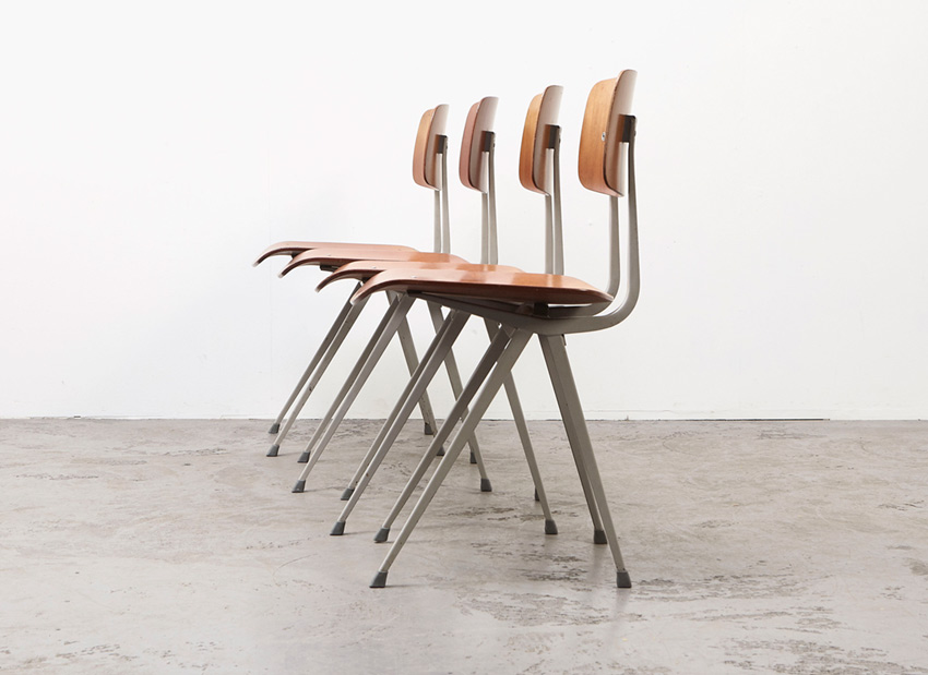 FrisoKramer SetOf4 Result Chairs 7
