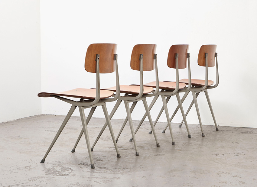 FrisoKramer SetOf4 Result Chairs 8