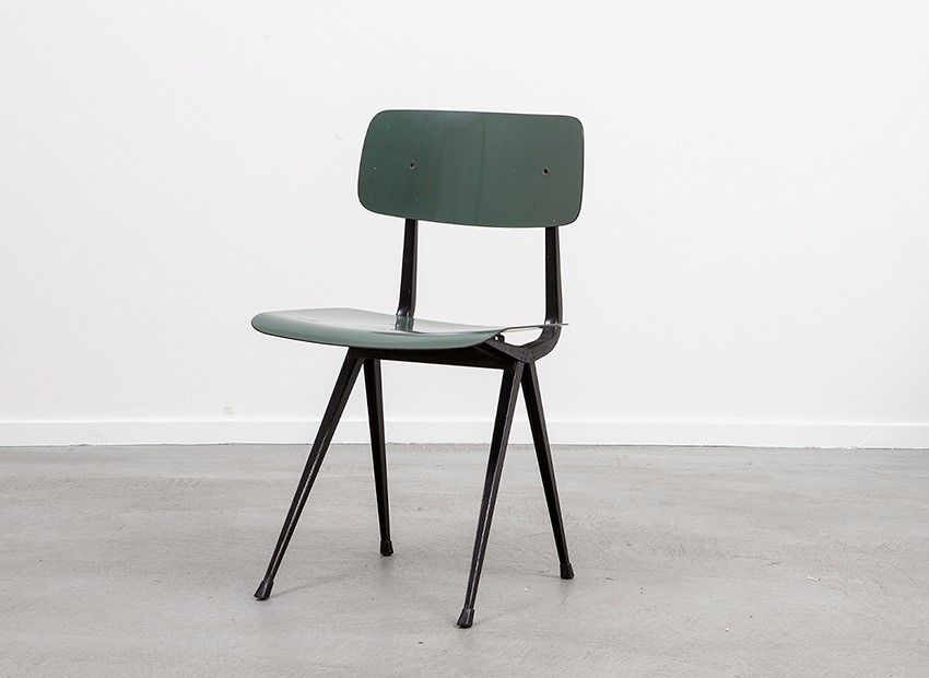 SOLD Friso Kramer Result Chair Green De Cirkel 1958
